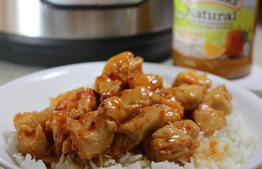 orange chicken instant pot