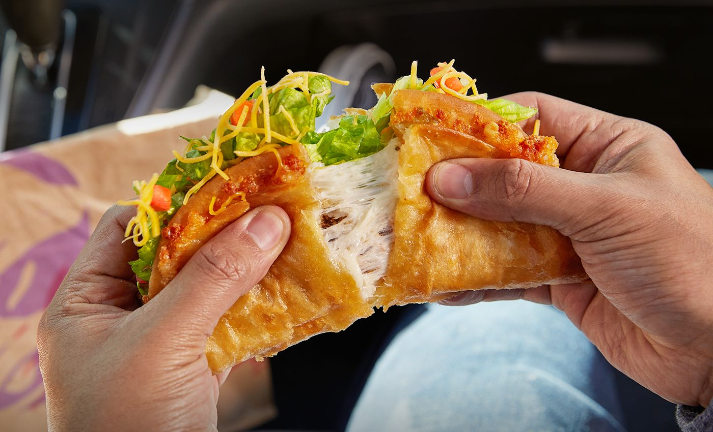 Taco Bell's Quesalupa Is Back!