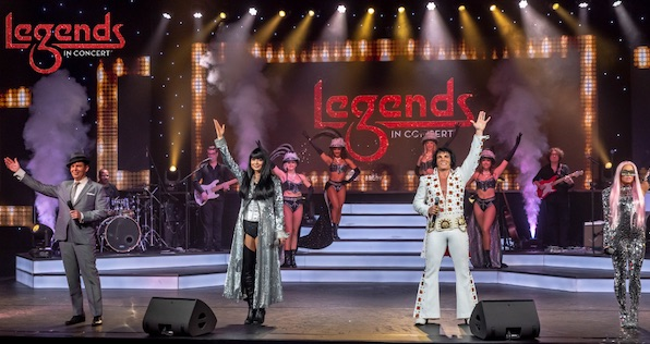 Las Vegas tribute show Legends in Concert