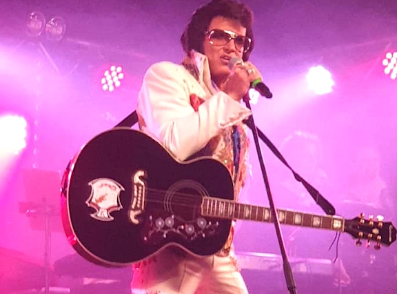 Elvis Tribute Artist Bill Cherry.