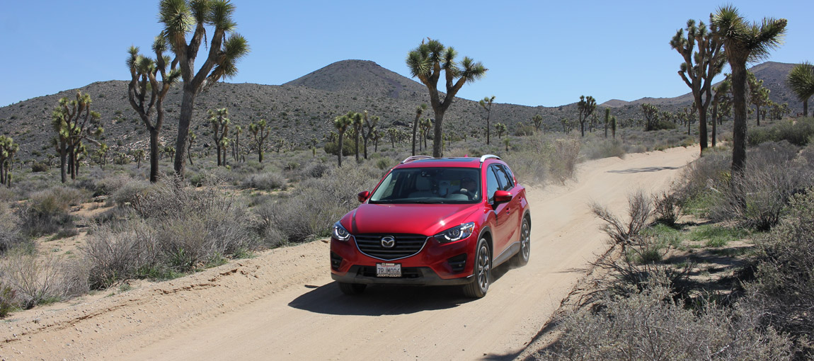 We Explored the California Desert With Mazda