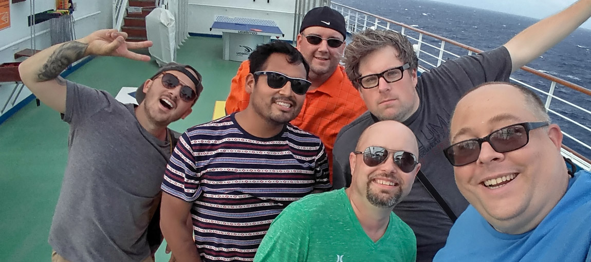 Blogger Mancation at Sea!